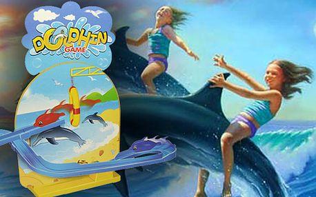 Sada magických létajících delfínků! Skvělá hra pro děti - delfínci na tobogánu s podmanivou hudbou! Napájení na tužkové baterie! Zažijete opravdovou zábavu!
