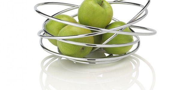 Mísa na ovoce Fruit Loop z chromované oceli