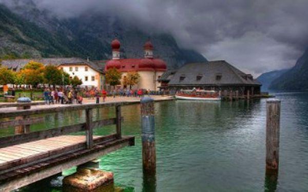 Výlet do legendární PEVNOSTI ORLÍ HNÍZDO a k jezeru KÖNIGSEE v Německu 5.7.2013.