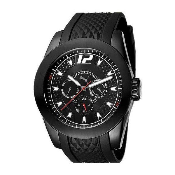 Pánské hodinky Puma černé kulatý ciferník