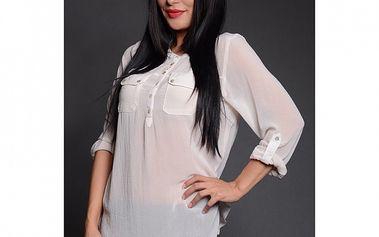 Dámská bílá košile Simonette
