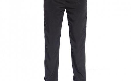 Dámské černé saténové kalhoty Simonette