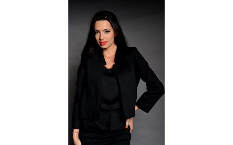 Dámske čierne sako Simonette