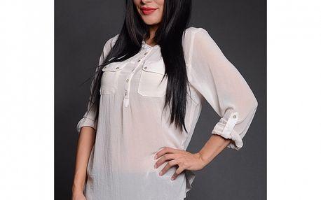 Dámska biela košeľa Simonette