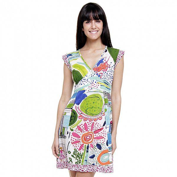 Dámske letné šaty Peace&Love s veselou potlačou