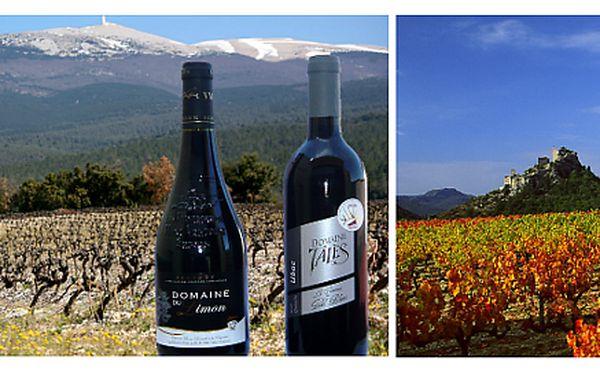 Dvě skvělá červená vína z Provence