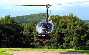 Staňte se na chvíli pilotem vrtulníku Robinson R44!
