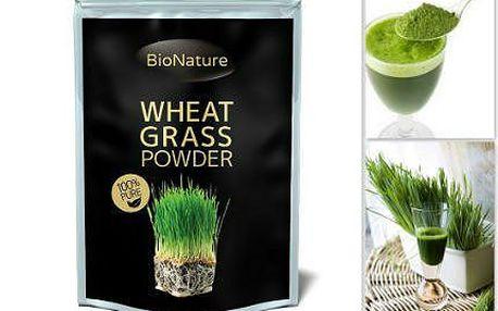 BIO Zelená mladá pšenice v prášku na koktejly - 200 gramů