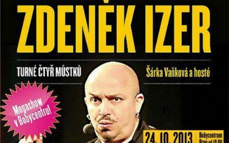 Zdeněk Izer: vstupenka na hudebně zábavnou show!