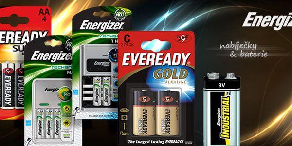 Baterie a nabíječky Energizer