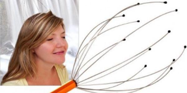 Přístroj na masáž hlavy za bezkonkurenční cenu 99 Kč! Dopřejte si kvalitní masáž a přestane vás bolet hlava!