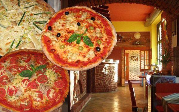 Pizza za skvělých 69 Kč v oblíbené Pizzerii Mosqui