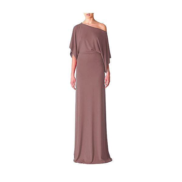 Světle hnědé šaty Selene