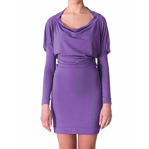 Fialové šaty Artemis