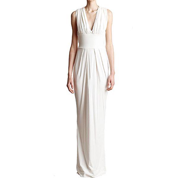 Bílé šaty Gaia