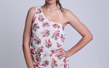 Dámské krátké šaty od značky Relish skvětinovým vzorem