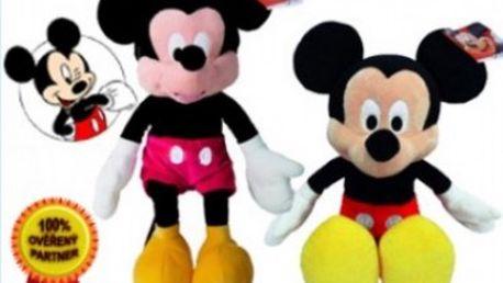 Plyšový Myšák Mickey za skvělou cenu pro Vaše malé nezbedy. Kdo si hraje nezlobí.