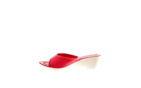 Dámské fuchsiové pantofle Sandalo