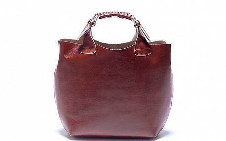 Dámska čokoládovo hnedá kabelka Roberta Minelli