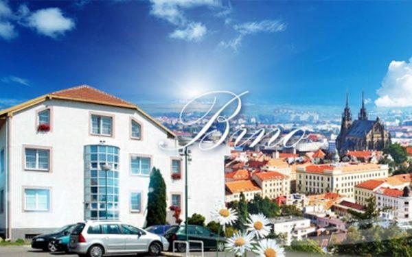 Víkendové Brno s POLOPENZÍ PRO DVA za 1825 Kč! 3 DENNÍ pobyt v Hotelu Gregor*** včetně bohaté snídaně, ROMANTICKÉ VEČEŘE PŘI SVÍČKÁCH a welcome drinku! Pozvěte svoji polovičku na parádní víkend se slevou 50% až do 2/2014!
