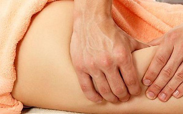 Ruční lymfatická masáž a anticelulitidový zábal