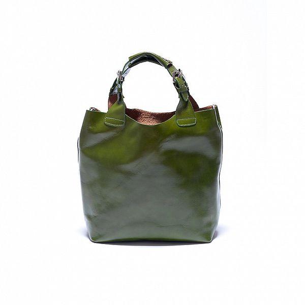 Dámská zelená kabelka Roberta Minelli