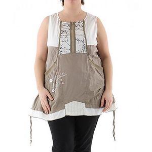 Béžové šaty Lili