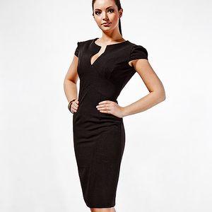 Černé pouzdrové šaty Tagilla