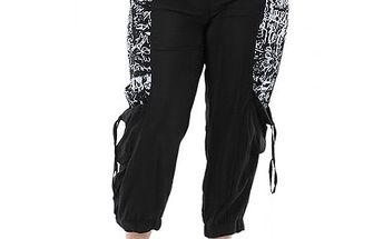Černo-bílé kalhoty Rozi