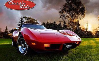 Jízda americkou legendou Chevrolet Corvette 1973