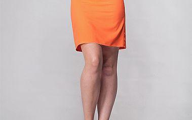 Oranžová sukně