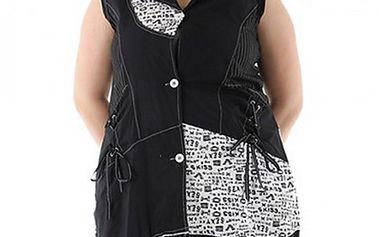 Černo-bílé šaty Lucy
