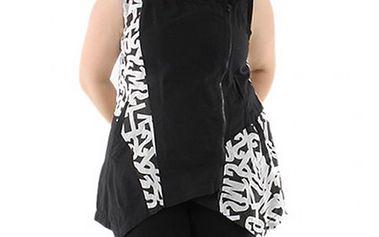 Černo-bílé šaty Rena