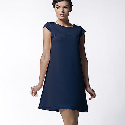 Námořnicky modré šaty