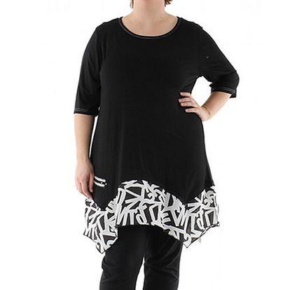 Černé šaty Bianka