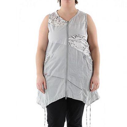 Šedé šaty Ila