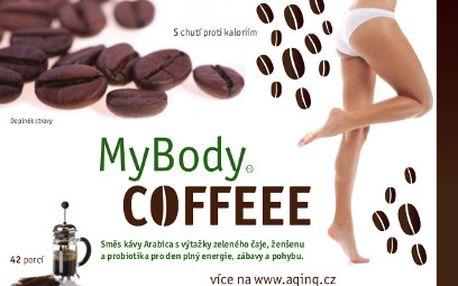 Káva MyBodyCoffeee™ za 295 Kč! Energie, pohyb, podpora hubnutí!
