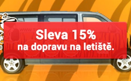 Sleva 15% na dopravu s TigerExpress.eu na letiště v Katowicích a Krakově