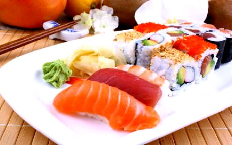 Sushi set o 38 kouscích jen za 379 Kč!