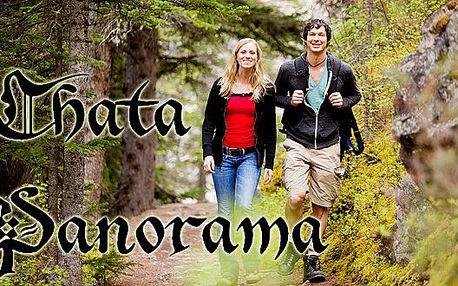Ubytování na horské chatě Panorama včetně polopenze pro dvě osoby. Poznávejte v létě krásy Orlických hor!