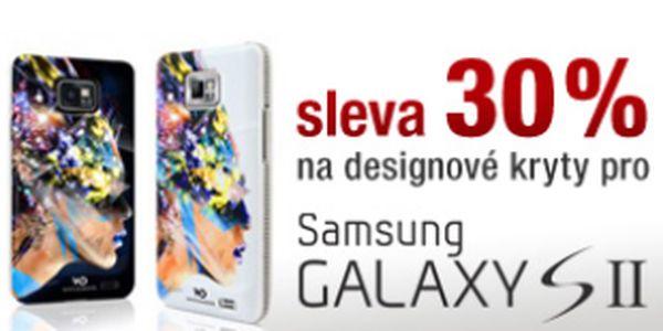 Sleva 30% na všechny kryty a pouzdra pro telefony Samsung Galaxy S2