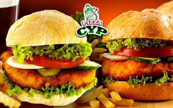 Rozvoz hamburgerového menu pro dva