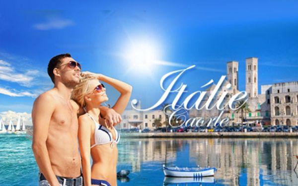 10 ti DENNÍ DOVOLENÁ v ITÁLII - Caorle v kempu Falconera 50 metrů od pláže již od 2290 Kč! UBYTOVÁNÍ v komfortním karavanu nebo ve stanu, autobusová DOPRAVA v ceně! Atraktivní červnové až záříjové termíny!