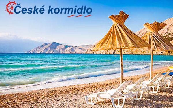 Chorvatsko – léto na 8 dní v Novi Vinodolski
