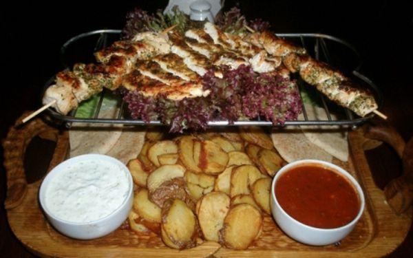 PRAVĚK ANDĚL! Veškerá jídla dle VAŠEHO VÝBĚRU s 50% slevou ve vyhlášené restauraci PRAVĚK přímo u metra Anděl!!!