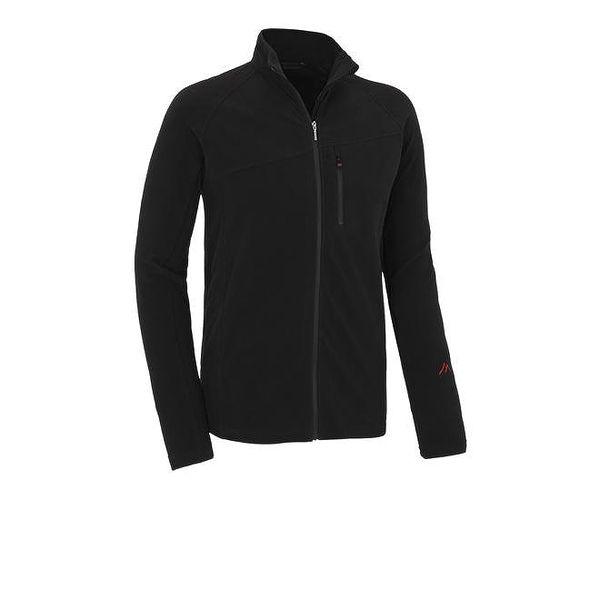 Pánska čierna fleecová bunda Maier