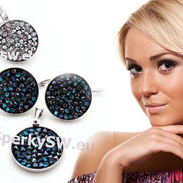 Šperky se Swarovski ROCKS crystal. Vyberte si ze 3 variant. Cena VČETNĚ poštovného.