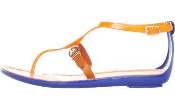 Dámské oranžové páskové sandály Ana Lublin