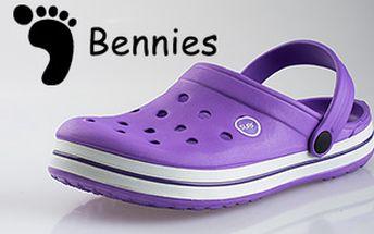 Dámské a pánské letní nazouváky Bennies