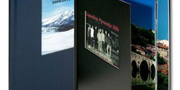 Nejlevnější FOTOKNIHA z vašich digitálních fotografií! 200 nebo 400 fotografií v jednom albu, formát A4, výběr barvy desek s imitací plátna